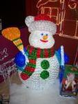 120cm Led Snowman-12281