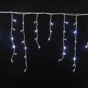 600 L White Icicle Lights-510183