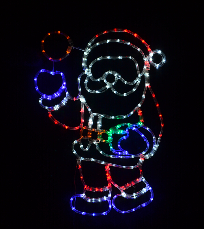 Santa with Snowball
