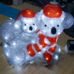 Acrylic-Christmas Kola with Baby-660110