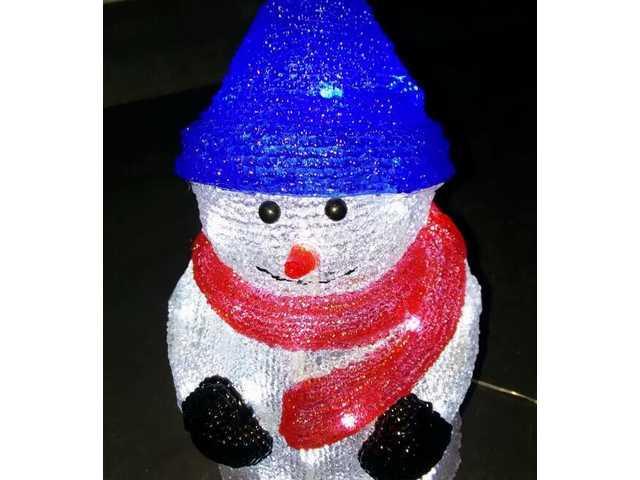 Acrylic Snowman-510367