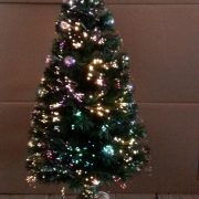 Decorated Fibre Optic Tree-90cm-510358