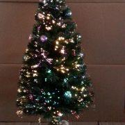 Decorated Fibre Optic Tree-90cm-510358
