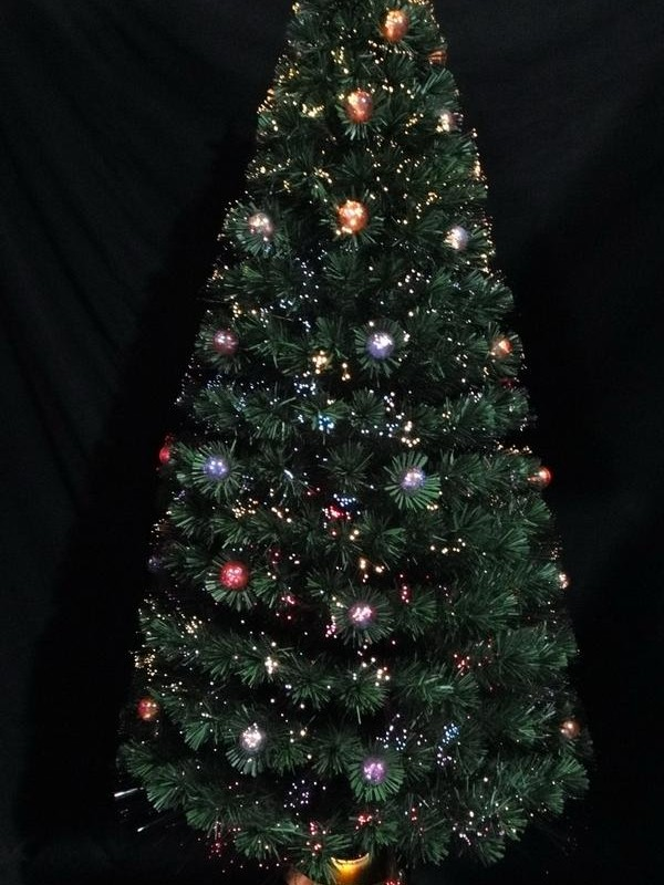 210 cm Fibre Optic Tree-510375