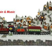Christmas Village-moving Train-600422