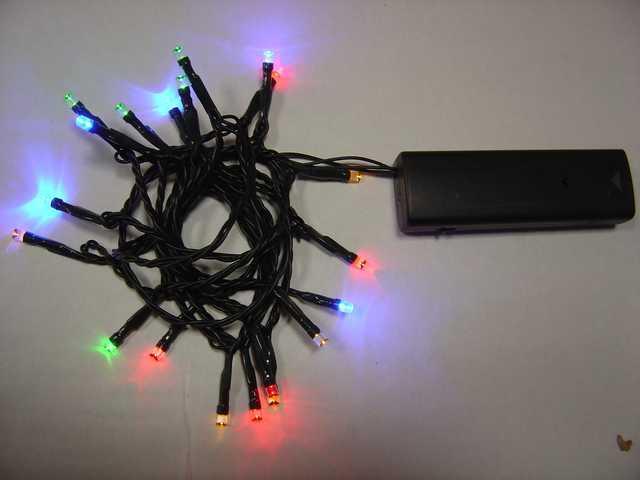 L.E.D Battery Powered Lights-510108