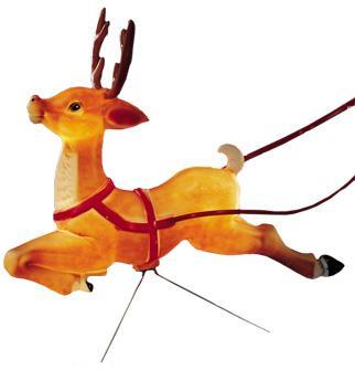 Blowmould-86cm Reindeer-616490