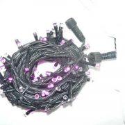 L.E.D Connect. String Lights-Purple-510130