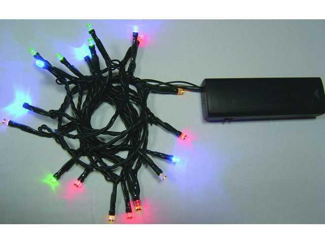 50L Battery Powered Multicolor String Lights-510338
