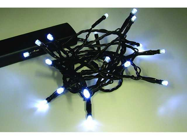 50L Battery Powered White String Lights-510337