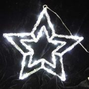 Acrylic Sculpture White Star-510319