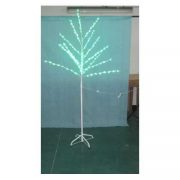 1.8 mtr White Twig Tree-Green Leaves-510291