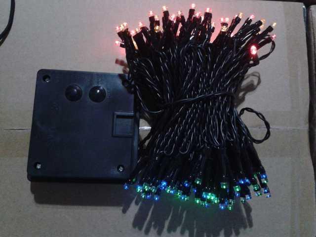 200L Solar Multicolor  String Lights-510323