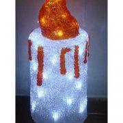 Acrylic White Candle-510326