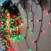 500L Red and Green Icicle Lights-510365