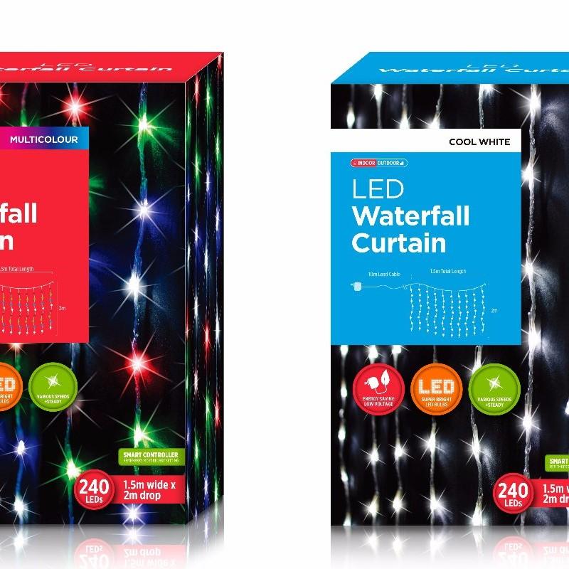 XB0207 Waterfall Curtain