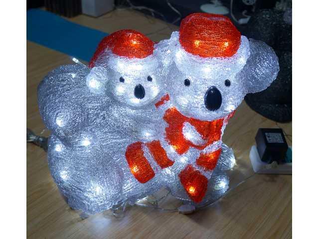 Acrylic-Christmas Kola with Baby-660110