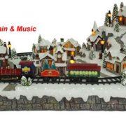 Christmas Village-moving Train-600422
