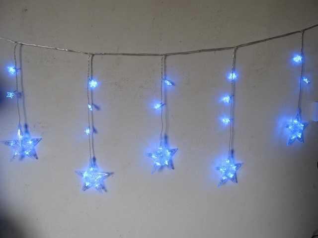 100L Curtain Light-Blue-510310