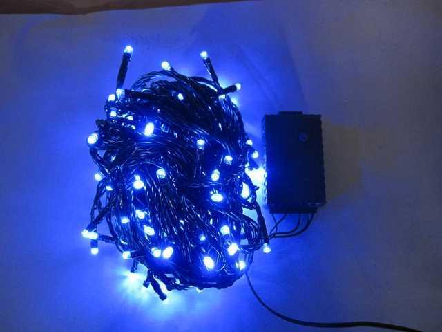 150L String Lights-5 mm Bulb-Blue-510274