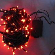 150L String Lights-5 mm Bulb-Red-510275