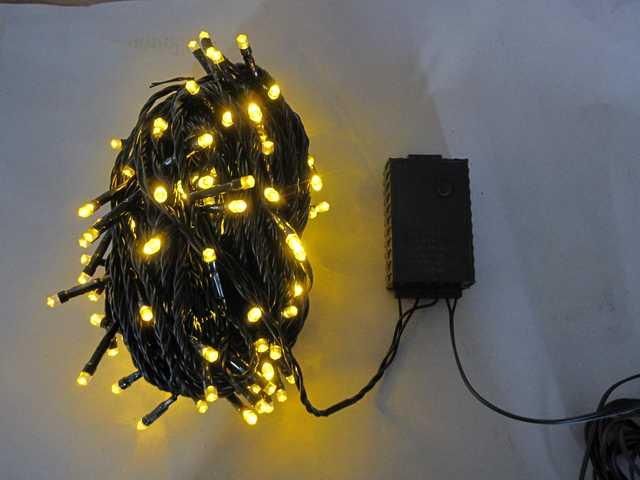 150L String Lights-5 mm Bulb-Yellow-510278