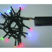 20L Battery Powered String  Lights-Multicolored-510264