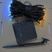 100L White Solar String Lights-510242